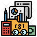 Accounting Firm Company Icon