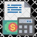 Calculator File Money Icon