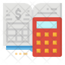 Calculator Calculating Business Icon