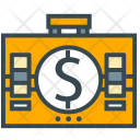 Accounting Briefcase Case Icon