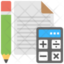 Accounting Audit Banking Icon