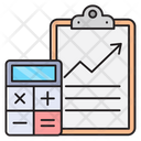 Accounting Finance Report Icon