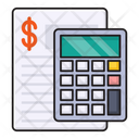 Accounting Calculation Shopping Icon
