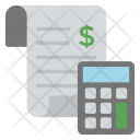 Accounting Bookkeeping Calculation Icon