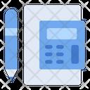 Ledger Calculator Money Icon