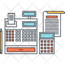 Accounting Cash Register Icon