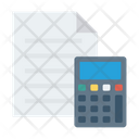 Accounting Calculation Document Icon