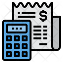 Accounting Currency Calculator Icon