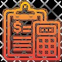 Accounting Economy Calculator Icon