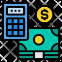 Accounting Cash Money Icon