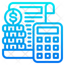 Accounting File Calculator Icon