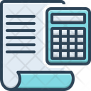 Accounting Calculator Finance Icon