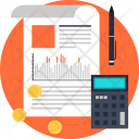 Accounting Analytics Chart Icon