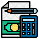 Accounting Bookkeeping Money Icon