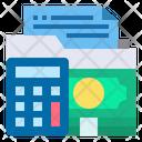 Accounting Management Folder Icon