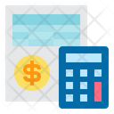 Accounting Bookkeeping Calculator Icon