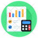 Account Statement Budgeting Accounting Icon