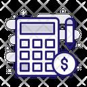 Accounting Calculator Estimate Icon
