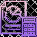 Accounting Calculator Calculation Icon