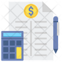 Accounting Accounting Report Financial Report Icon
