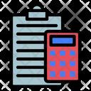 Accounting Account Calculator Icon