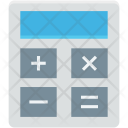 Accounting Calculating Machine Icon