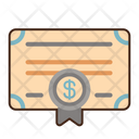 Accounting Certificate Icon