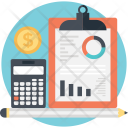 Accounting Graph Budget Icon