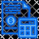 File Money Calculator Icon