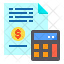 File Money Calculator Icon