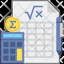 Accounting Equation Icon