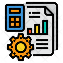 Accounting File Management Icon