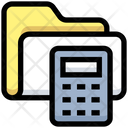 Business Financial Folder Icon