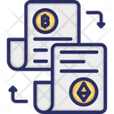 Accounting Journals Accounting Ledgers Blockchain Icon