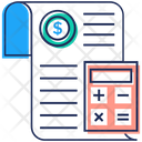 Accounting Paper Icon