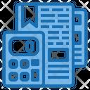 Report Calculator Tools Account Icon