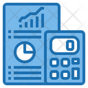Chart Calculator Tools Account Icon