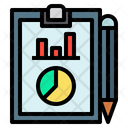 Accounting Report Accounting File Statistics Icon