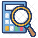 Accounting Search Icon