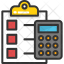 Accounts Tally Accounting Icon