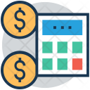 Budget Calculator Revenue Icon
