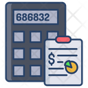 Accounts Accounting Data Calculator Icon