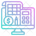 Bookkeeping Service Accounting Icon