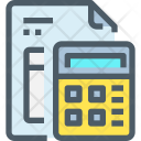 Financial Accounts Report Icon