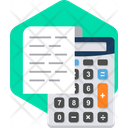 Calculate Calculator Math Icon