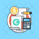Accounts Accounting Calculator Icon