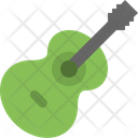 Accoustic Guitar Acordion Instrument Icon