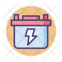 Accumulator Battery Car Battery Icon