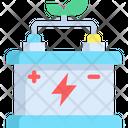 Accumulator Battery Eco Energy Icon