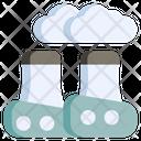 Pollution Environment Smog Icon
